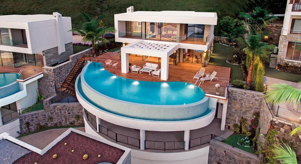 villa modern bodrum g ncel emlak haberleri. Black Bedroom Furniture Sets. Home Design Ideas